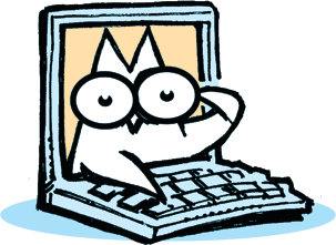 WOW Owl with Computer