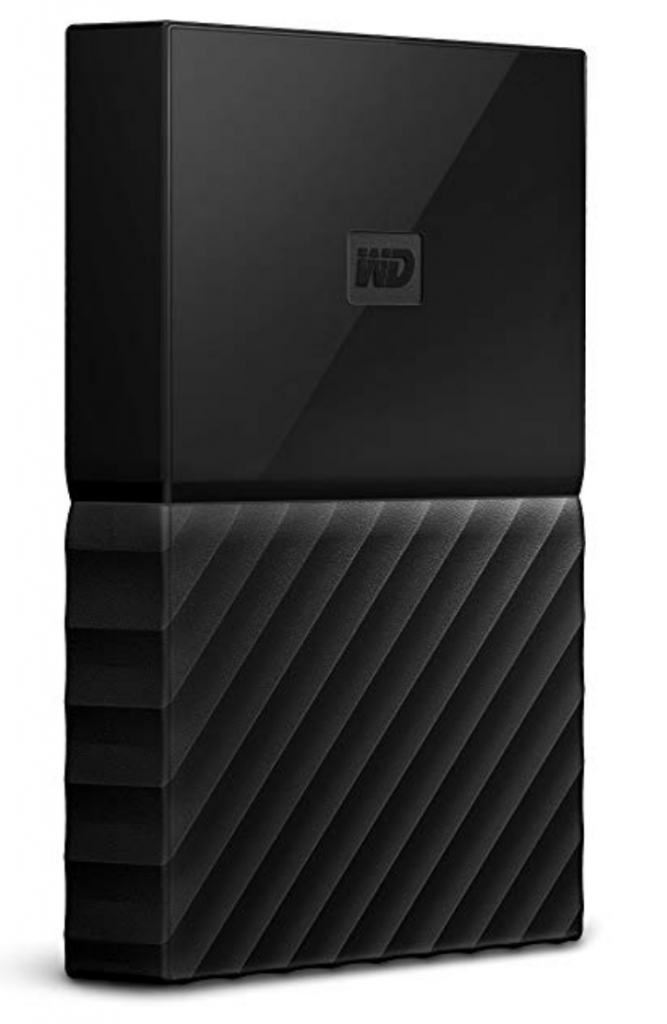 2 TB External WD portable drive for backup