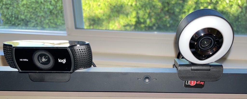 Webcam Comparison - Logitech C922 Pro HD Stream vs LG 5k display vs Aoboco Stream Webcam